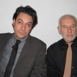 Stefano Giaccone insieme a Peter Brett