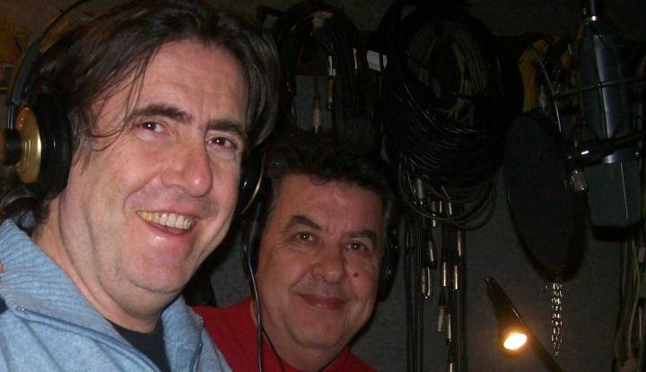 In studio con Ambrogio Sparagna
