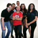 Lullonannadance: sul set del video (Kronos, Pino, Alberto, Alessandro, Giulia, Sakina)